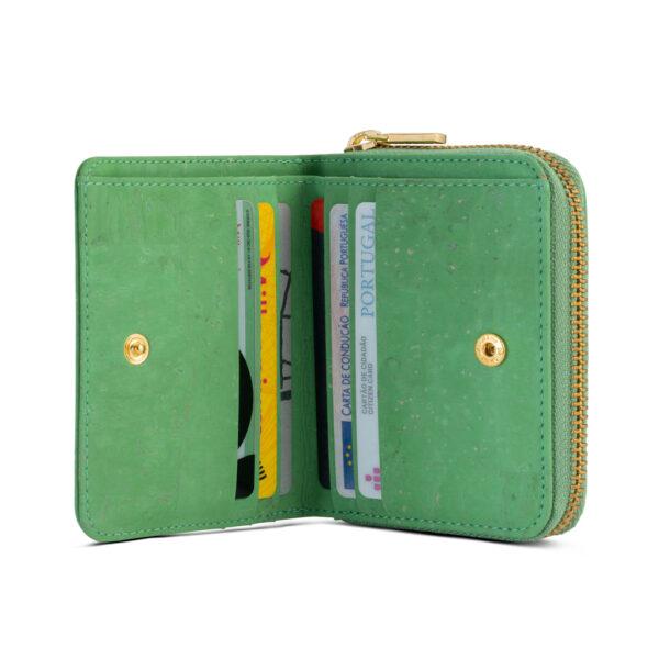 Kork Portemonnaie «Pistacho» von Artipel