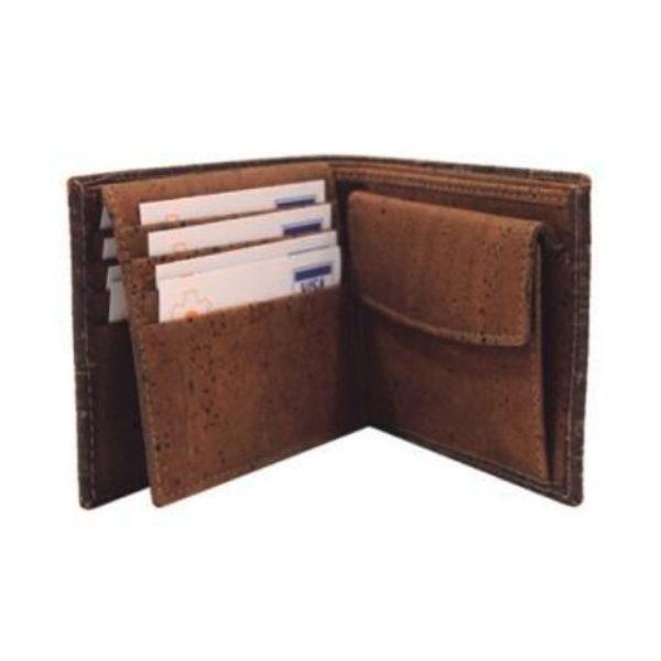Kork Portemonnaie «Structure» von Artipel
