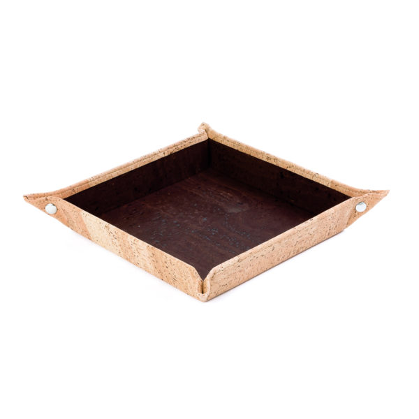 Empty Pocket Tray aus Kork