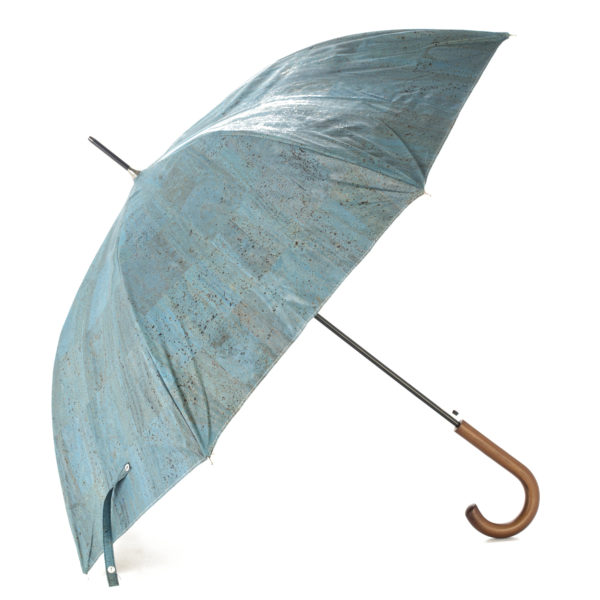 Regenschirm «Blue» aus Kork