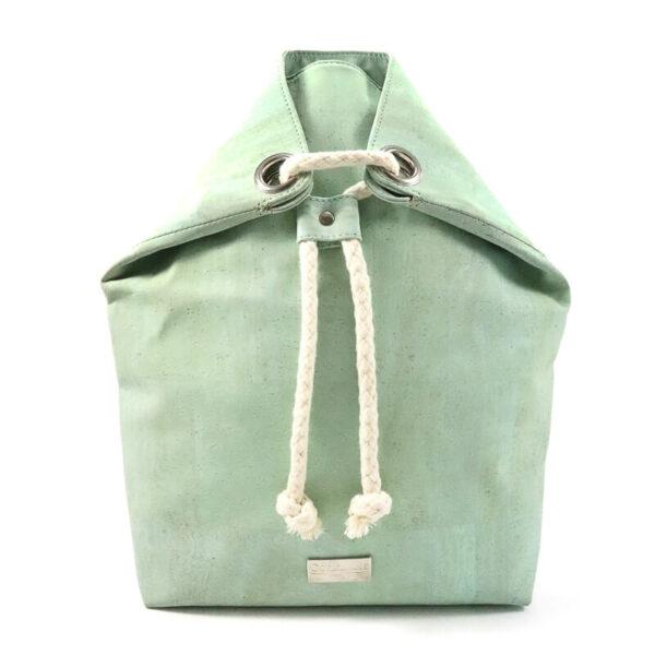 Rucksack «Basic» grün aus Kork von CorkLane