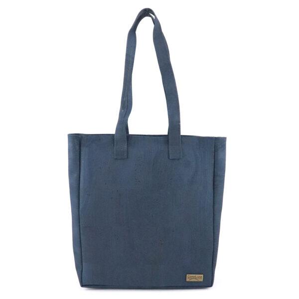 Handtasche «Shopping» blau aus Kork