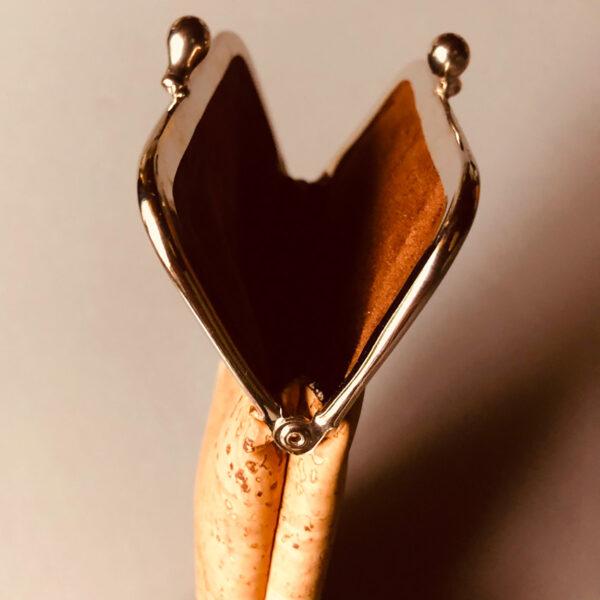 Kork Brillenetui «Lock» von Artelusa