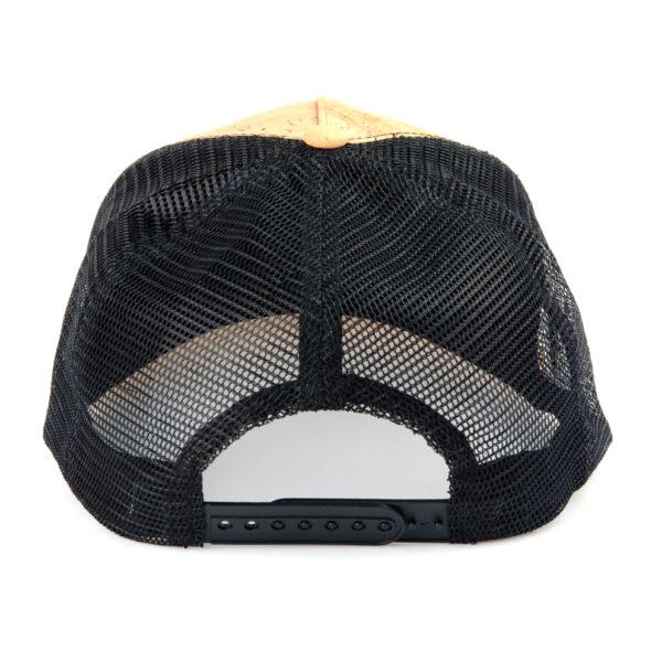 Cap-Pelcor-schwarz-aus-Kork