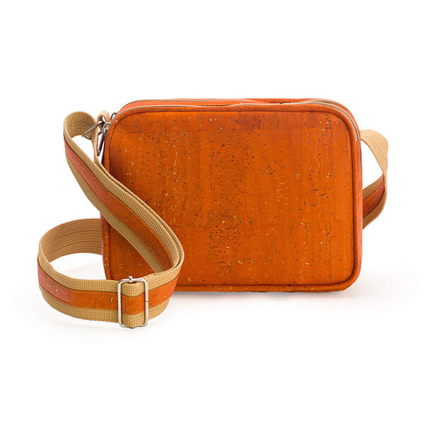 Crossbody-Korktasche «One» orange