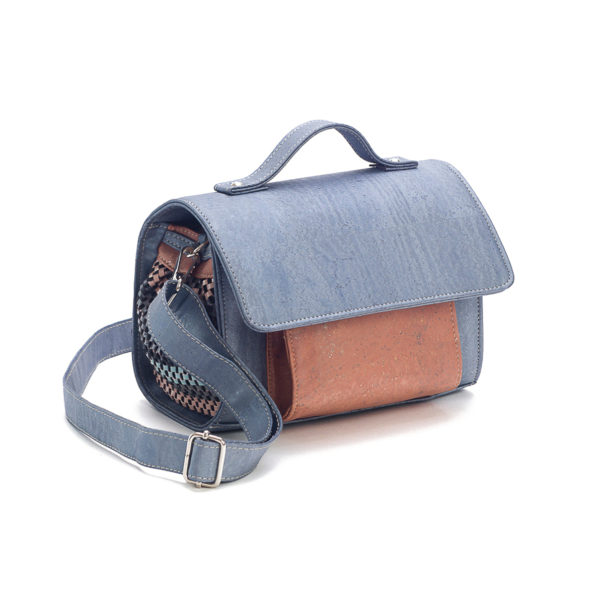 Kork Handtasche «Gray»