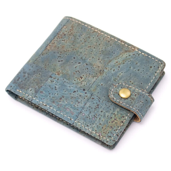 Geldbörse Turquoise aus Kork