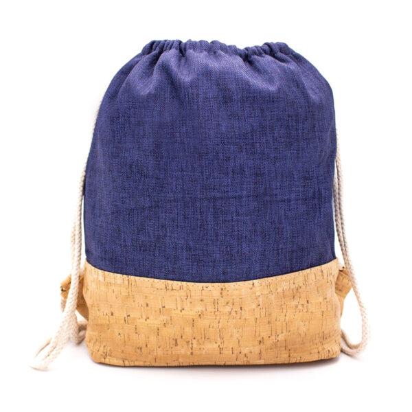 Gym-Sack «Blue» aus Kork von MB Cork