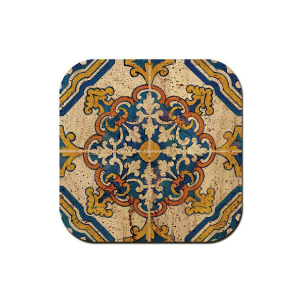 Kork Untersatz «Azulejo» von Artipel