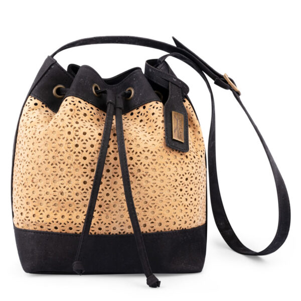 Handtasche Eva Bucket aus Kork