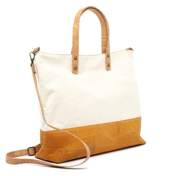 Handtasche Yellow Stripe aus Kork