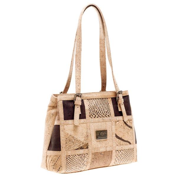 Tasche aus Kork «Patch Square»