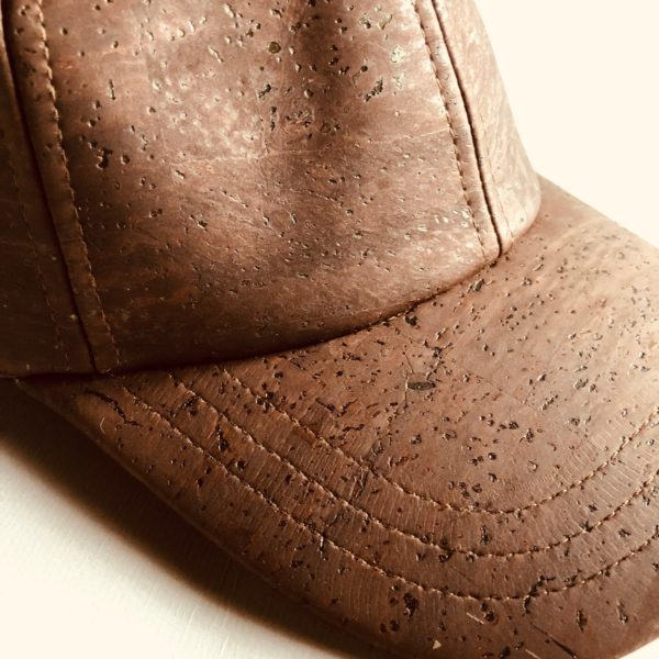 Kork Baseball Cap «Marrom» von Artelusa