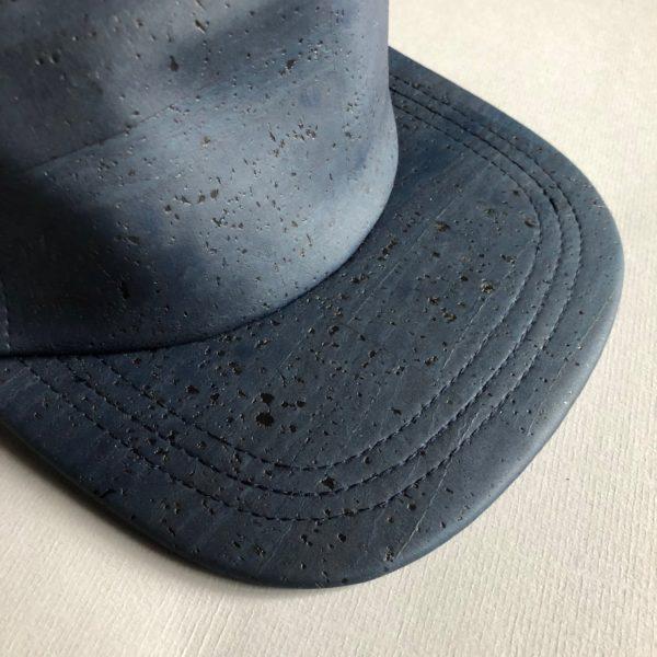 Baseball Cap «Blue» aus Kork, vegan