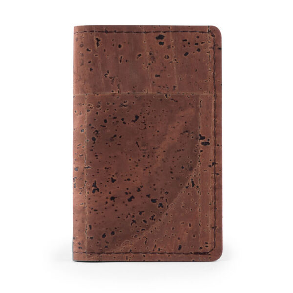 Kartenhalter Brown aus Kork