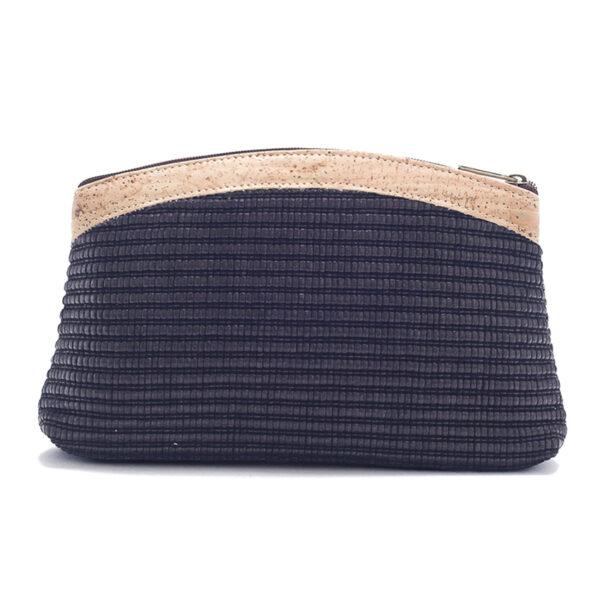 Kork Tasche «Black Fabric»