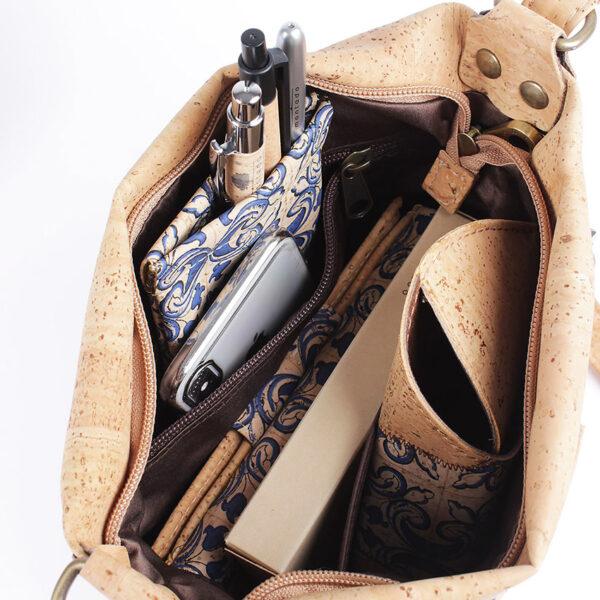 Crossbody-Tasche aus Kork