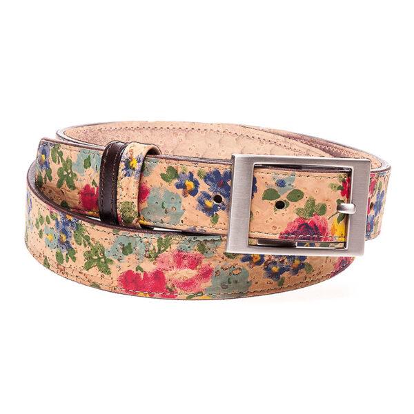 Kork Gürtel «Flores»