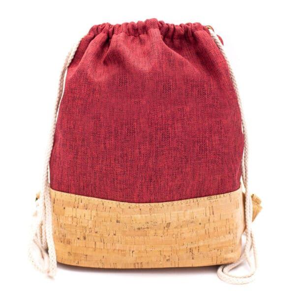 Kork Gym-Sack «Red» von MB Cork
