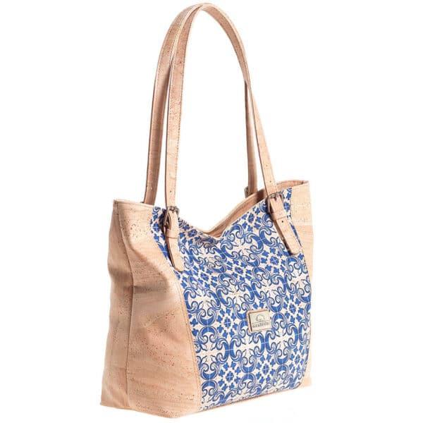 Kork Handtasche Azulejos von Montado