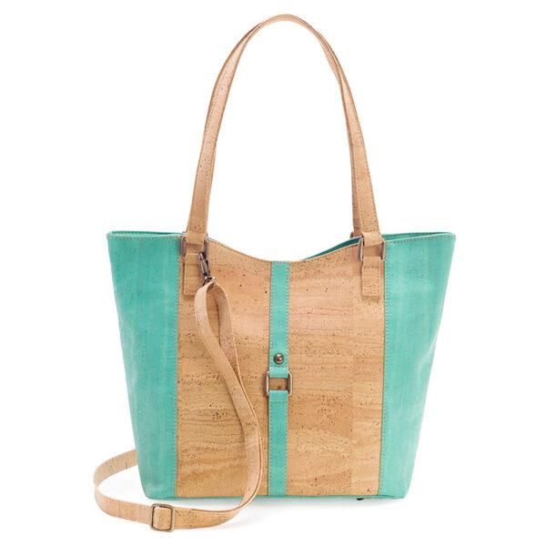 Kork Handtasche «Green Water» von Artelusa