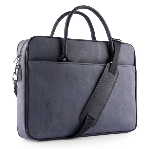 Kork Laptoptasche CorkLane blau-grau