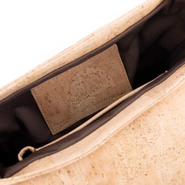 Kork Messengertasche CorkLane M natur