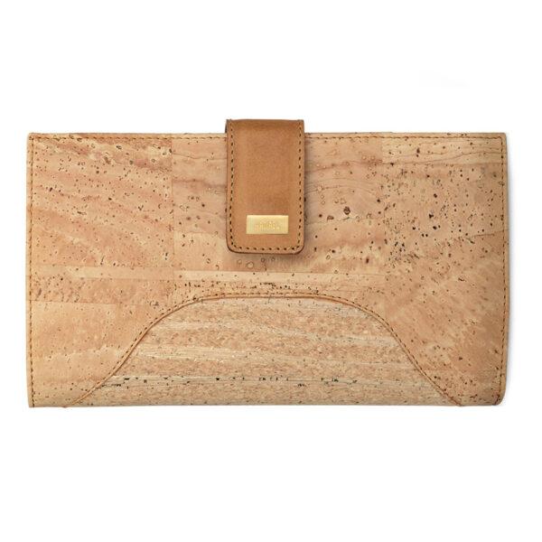 Kork Portemonnaie «Hipica» gold von Artipel