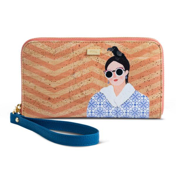 Kork Portemonnaie «Madame»