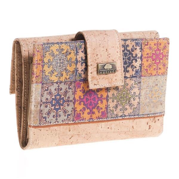 Kork Portemonnaie Mosaico L
