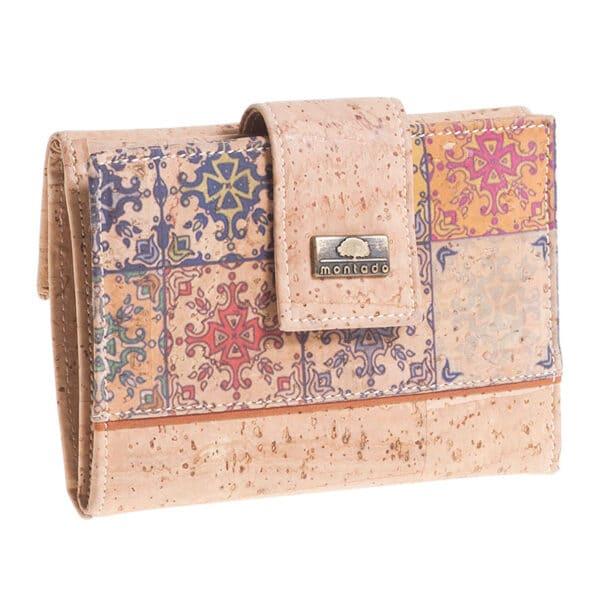 Kork Portemonnaie Mosaico M