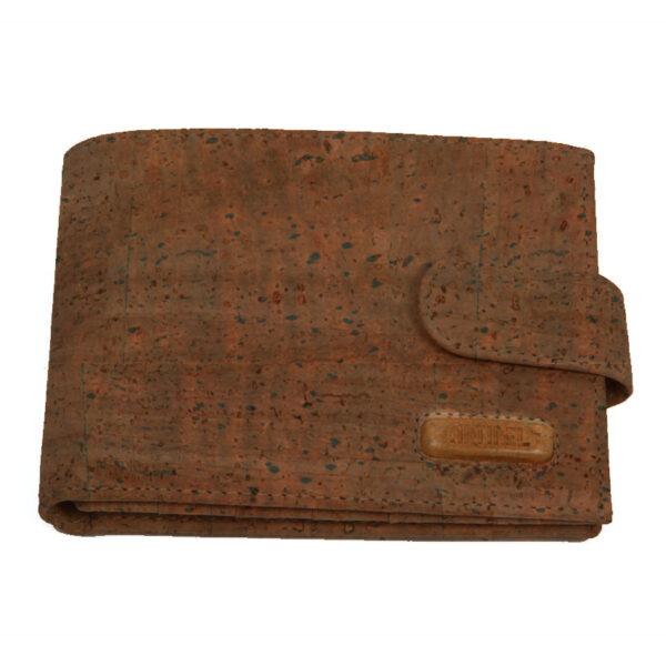 Braunes Kork Portemonnaie «Natural»