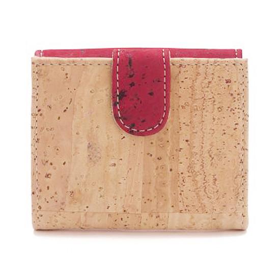 Portemonnaie «Red» aus Kork