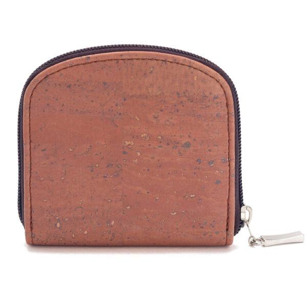 Kork Portemonnaie «Rosy Brown»