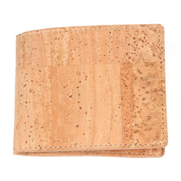 Naturfarbenes Kork Portemonnaie «Simply»