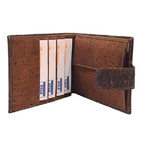 Kork Portemonnaie «Structure Flap»
