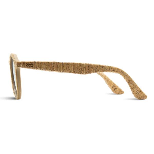 Sonnenbrille Laguna aus Kork von Parafina