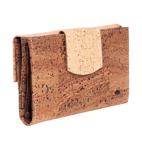 Kork Portemonnaie «Montado» braun