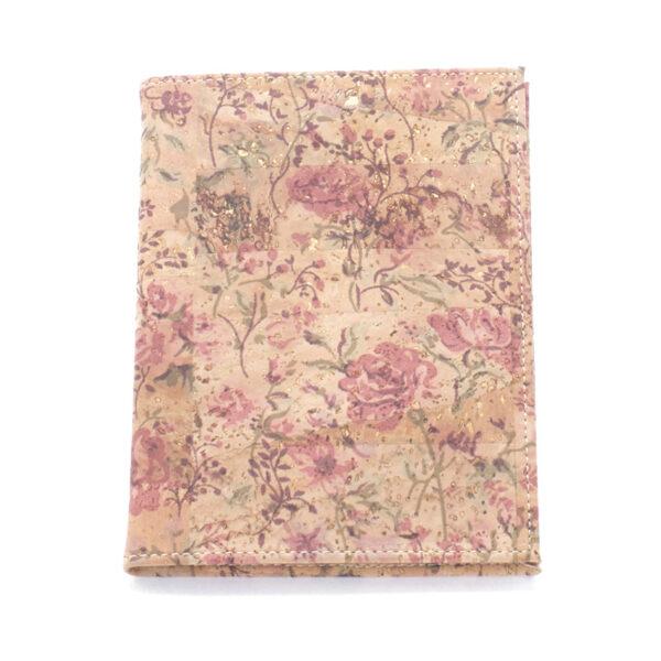 Kork Mappe A6 «Floral»