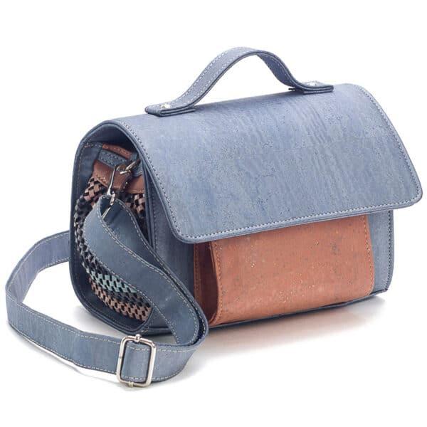 Kork Handtasche Gray
