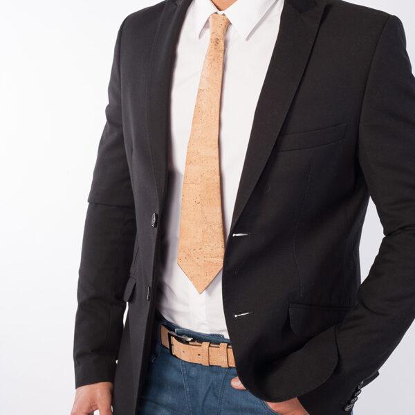 Krawatte aus Kork