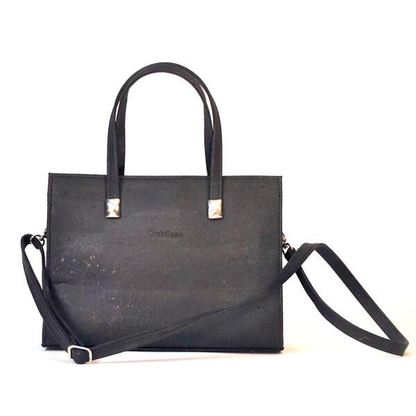 Kork Handtasche «Milan» schwarz