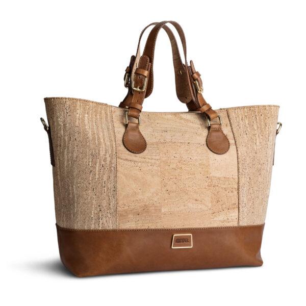 Kork Tasche «Marrom» braun von Artipel