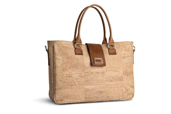 Kork Handtasche «Marrom» natur
