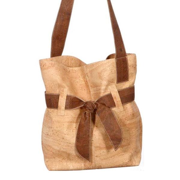 Kork Tasche «Present» braun von Artipel