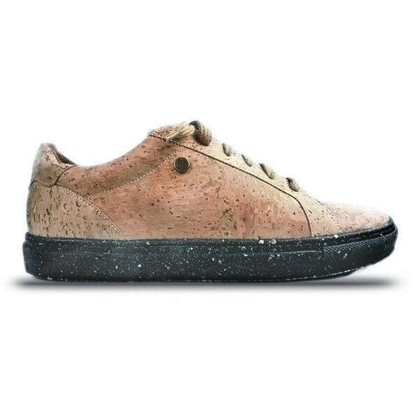 Nachhaltige Schuhe aus Kork Dark Toble