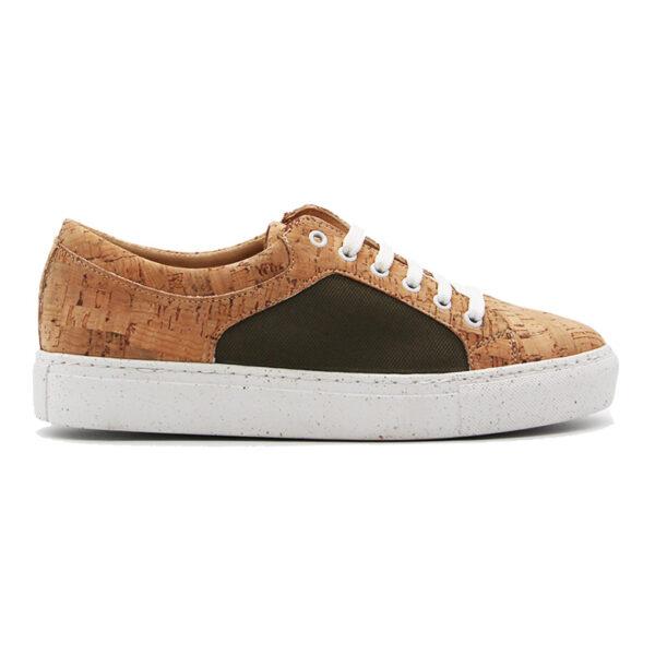 Nachhaltige Sneakers «Green» aus Kork von Rutz