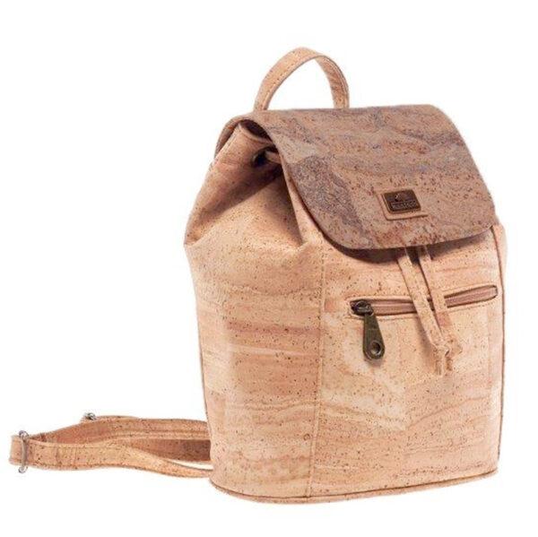 Nachhaltiger Rucksack «Golden Mapa» aus Kork von Montado