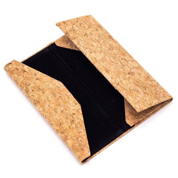 Nachhaltiges Brillenetui Triangle aus Kork