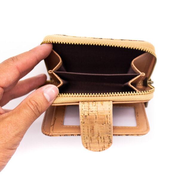 Nachhaltiges Portemonnaie «Small Pattern» aus Kork